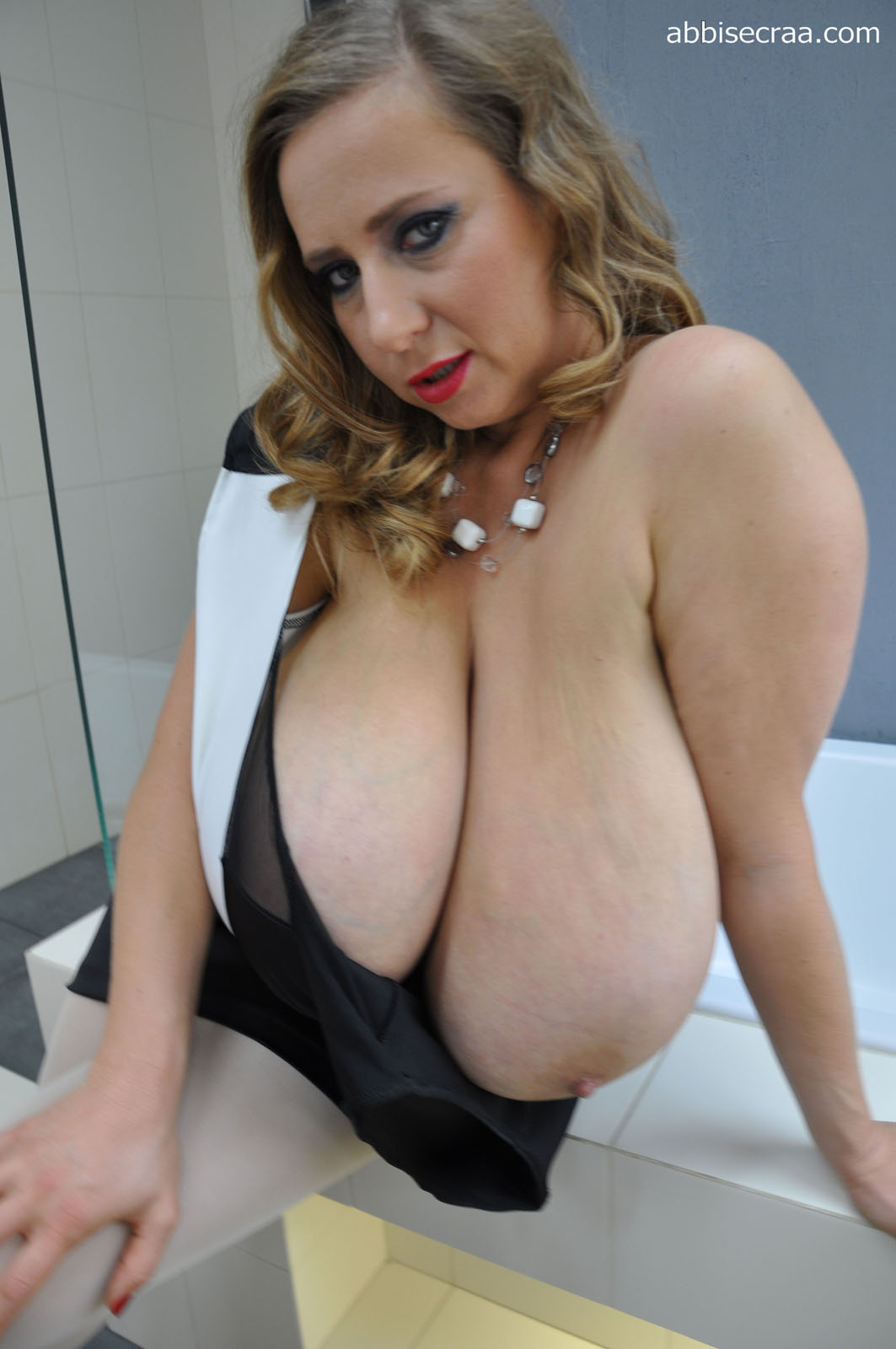 Extremely large tits