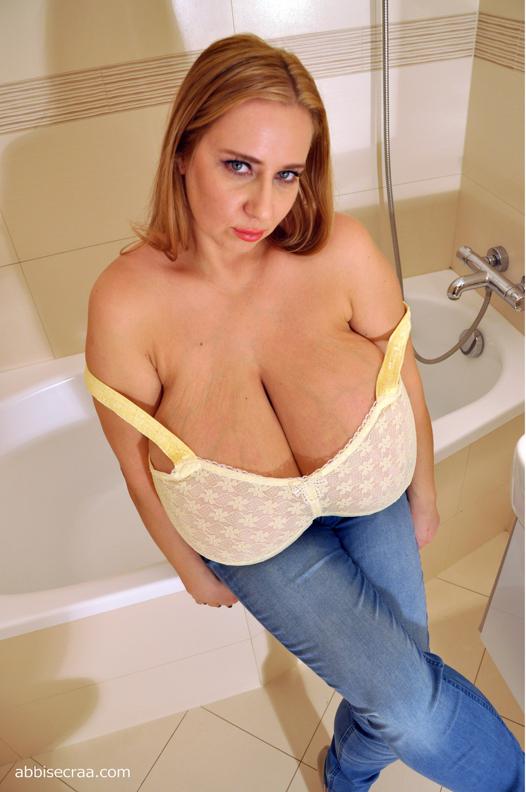 Biggest breasts ever on a 9 month pregnant milf - 1 part 10
