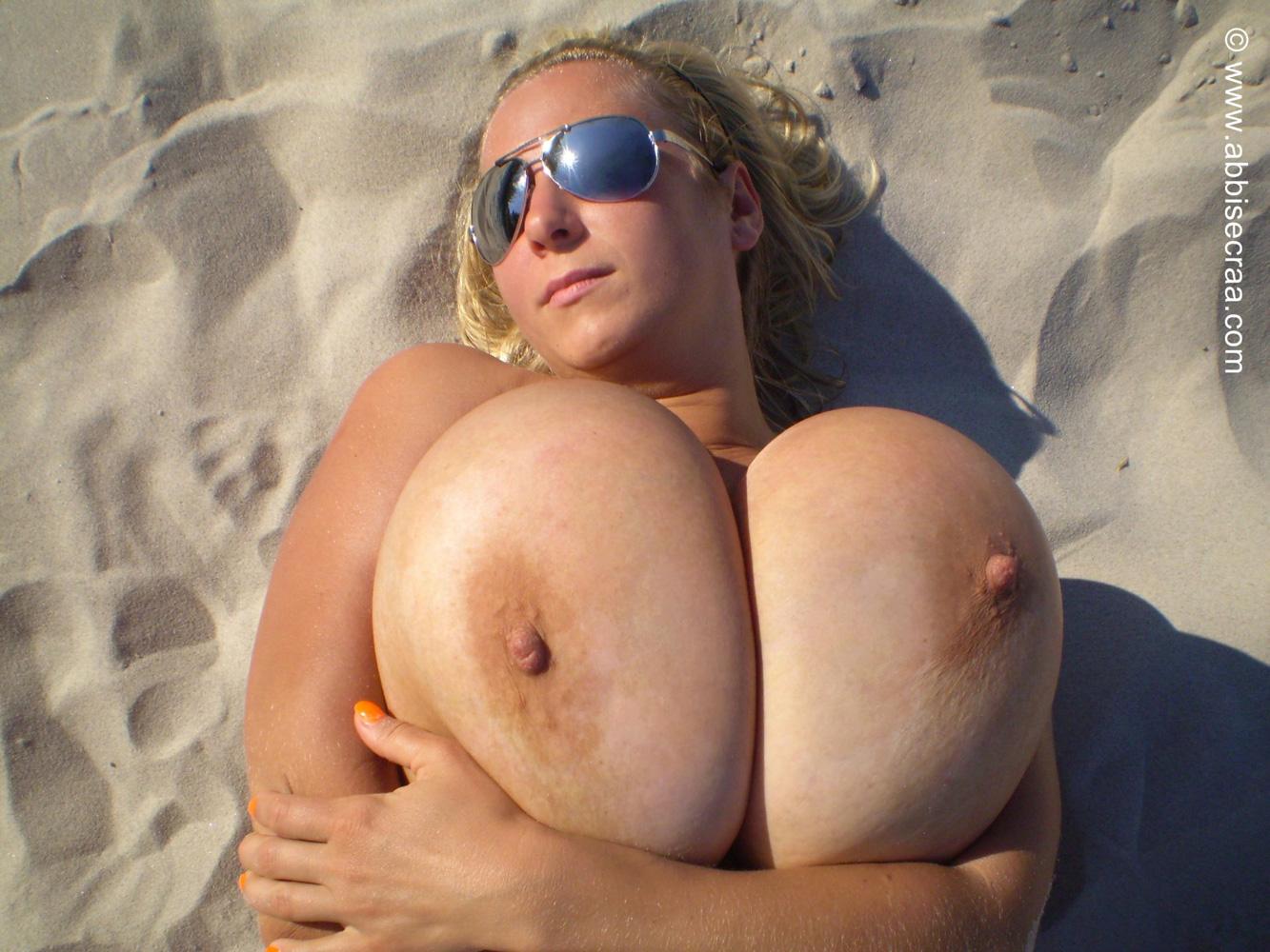 Красивая большая задница грудь получали