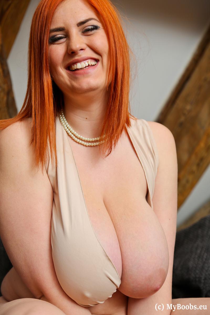 Alexsis Faye Big Naturals Redhead
