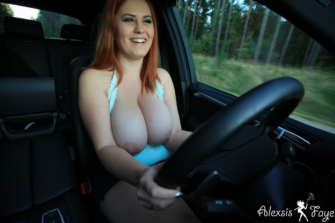 Lovely Girl With Sweet Big Boobs Masturbates In Car Russian Sexy Girls