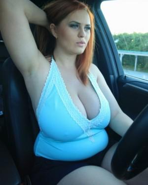 Women driving topless big breast, lisa kirkpatrick nude