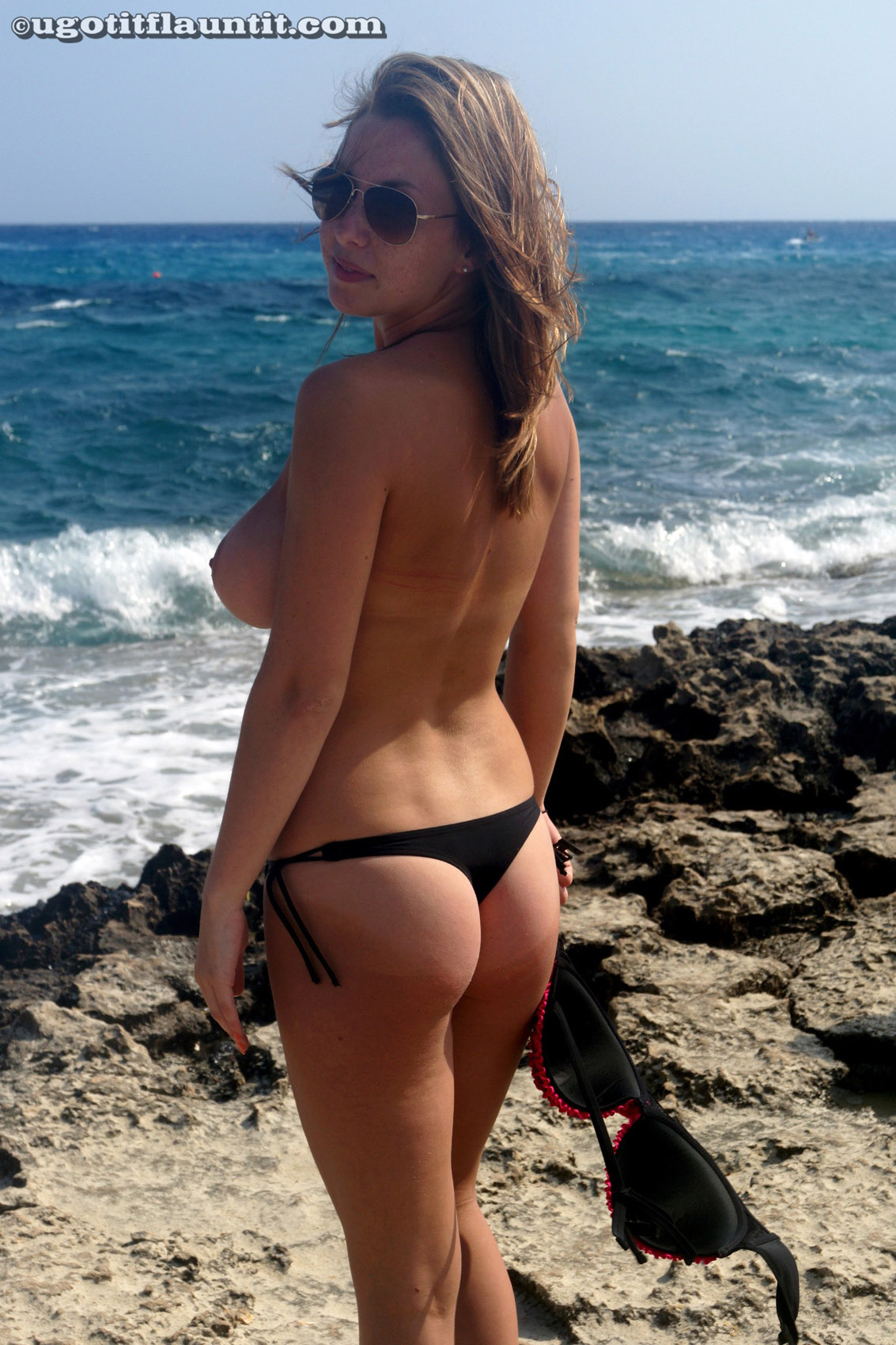 Babe beach busty find