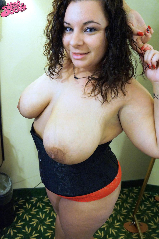 alyssa made boobs