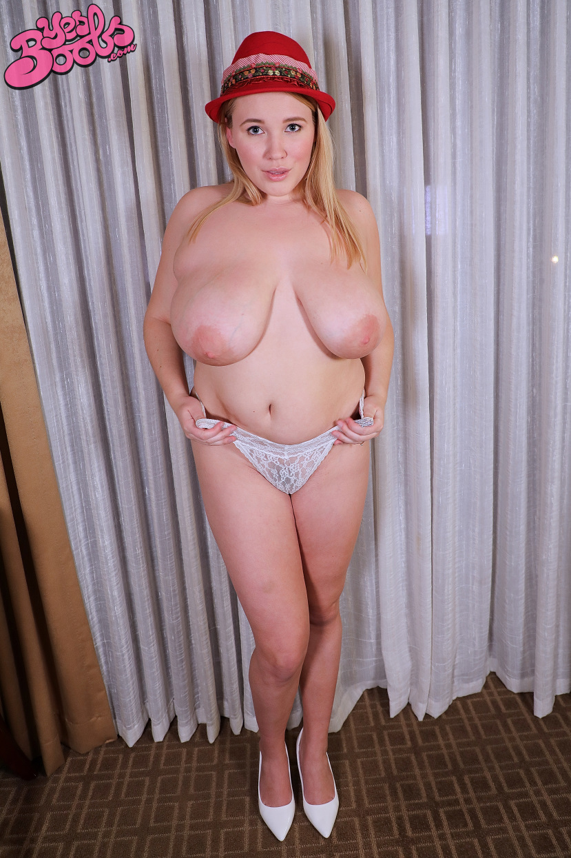 White naked big tits solo