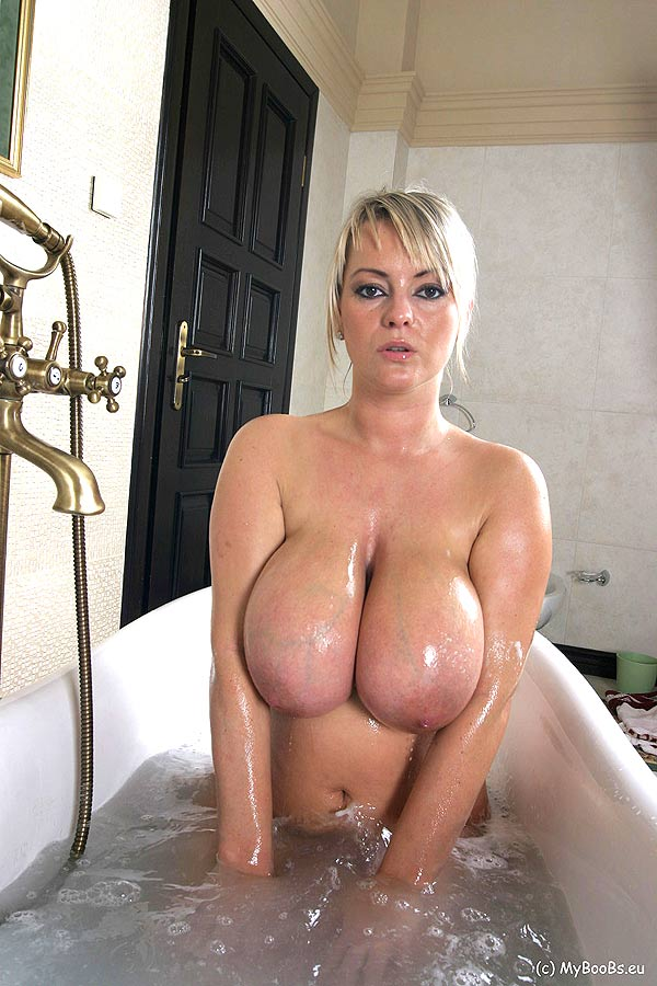 Bea big tits naked in public amusing