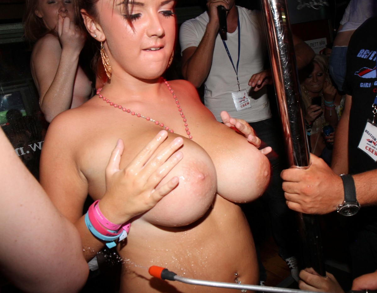women in club naked