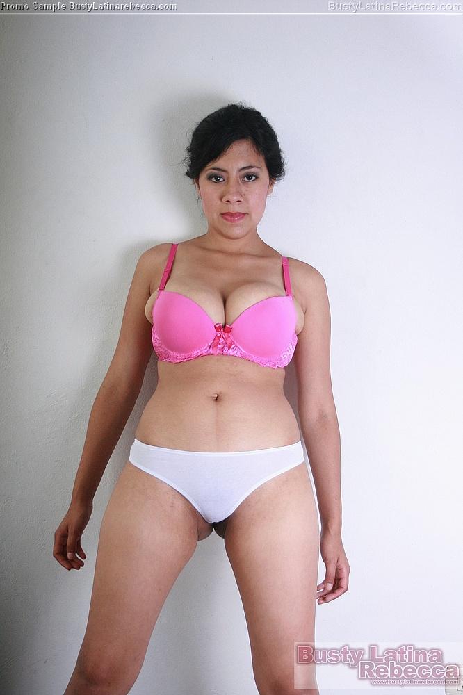 Busty Big Pink Bra 107