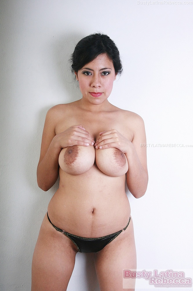 The busty latina nude