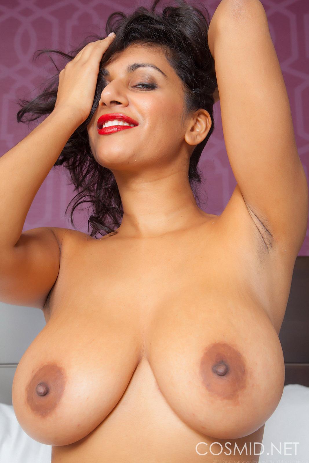 White nude carla indian