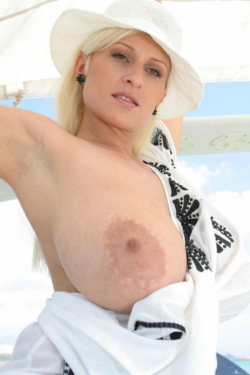Mature classy huge boobs