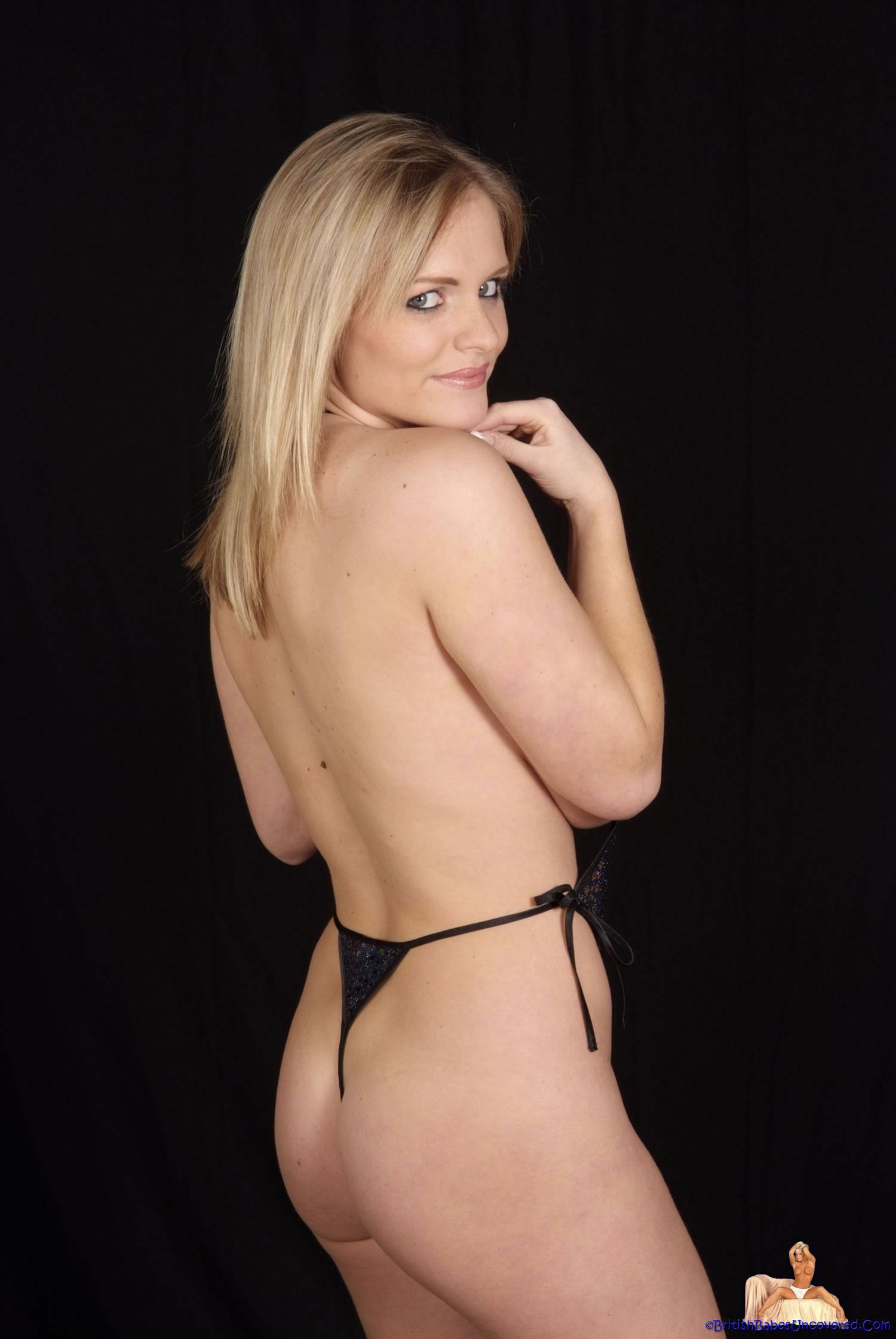 Charley Green Black Bikini