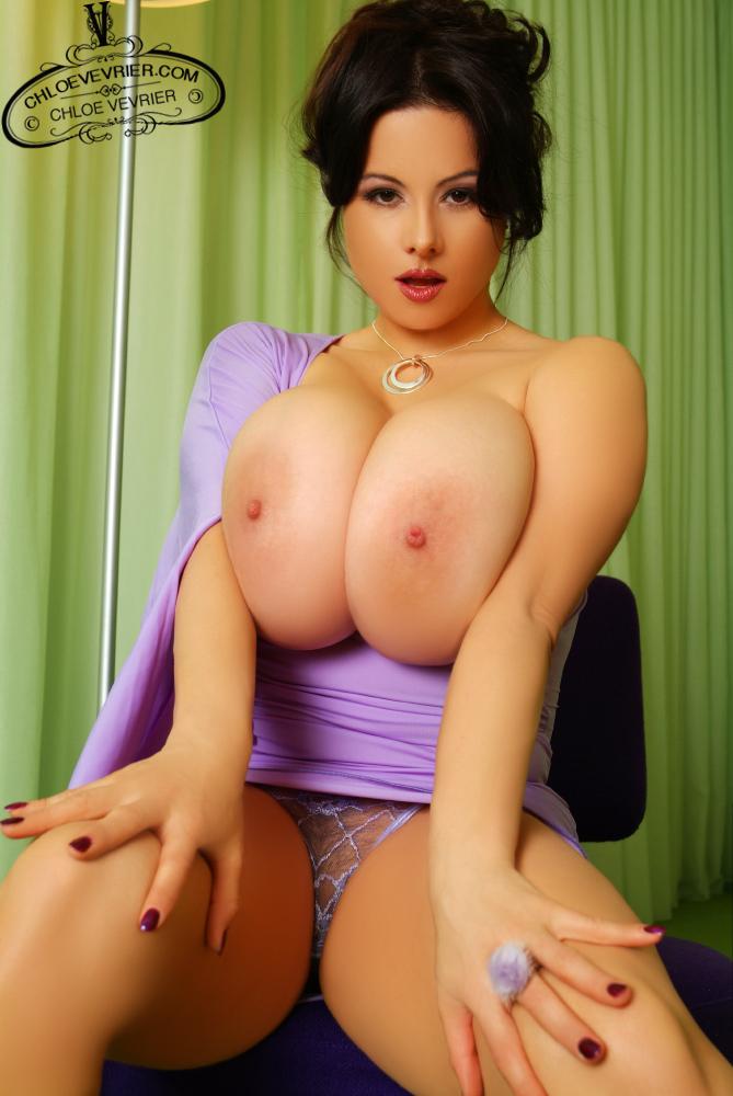 Chloe Vevrier Hot Purple Dress - Prime Curves