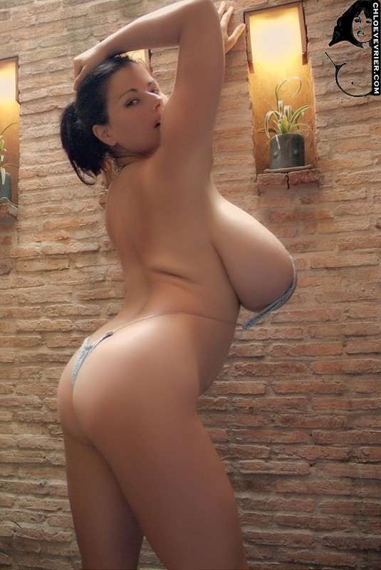 Chloe Vevrier Big Tits Bikinis