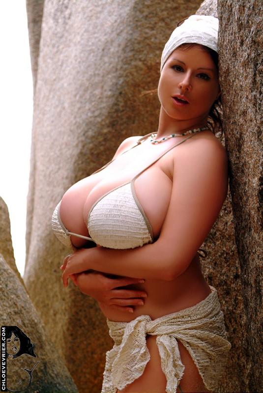 Chloe Vevrier Beach Bikini