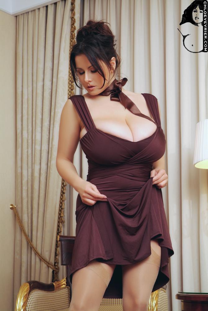 Vevrier dress sexy tight chloe