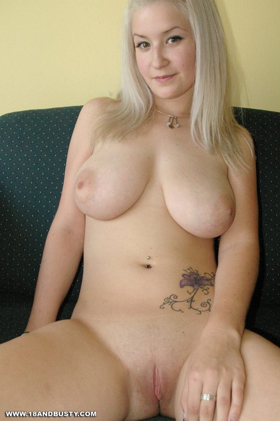 Something also Pale blonde nude model seems, will