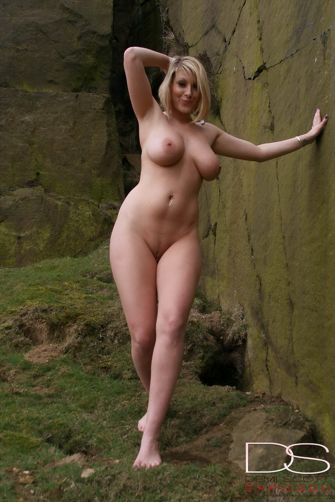 Nude walking boobs movement