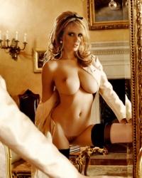 Blonde busty cum tit