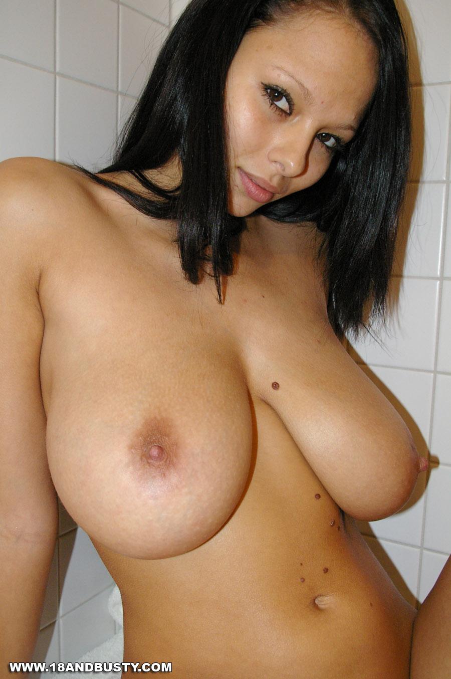 Boob mature shower