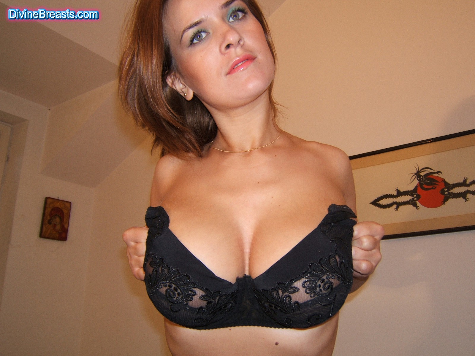 The boobs hot bra with big with girl and remarkable, very valuable