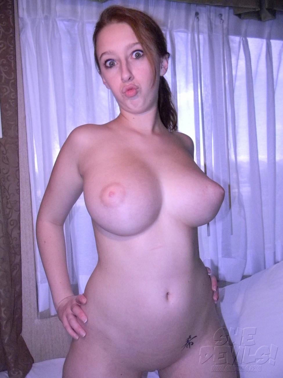 Felicia clover tits