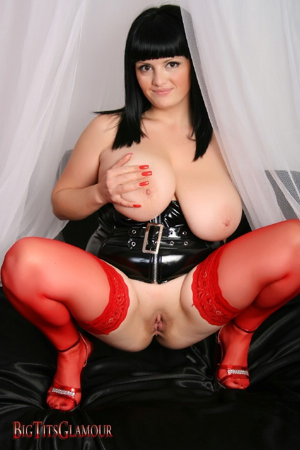 Suggest you tits and latex
