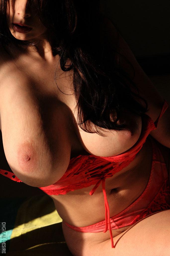 Nude big boobs asian
