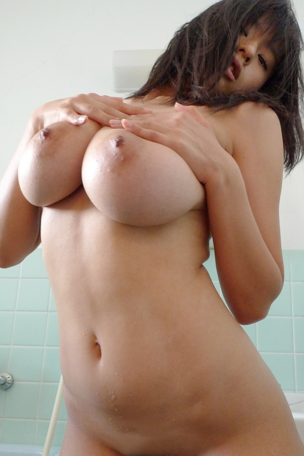 Cute love japan natural photo nude shower