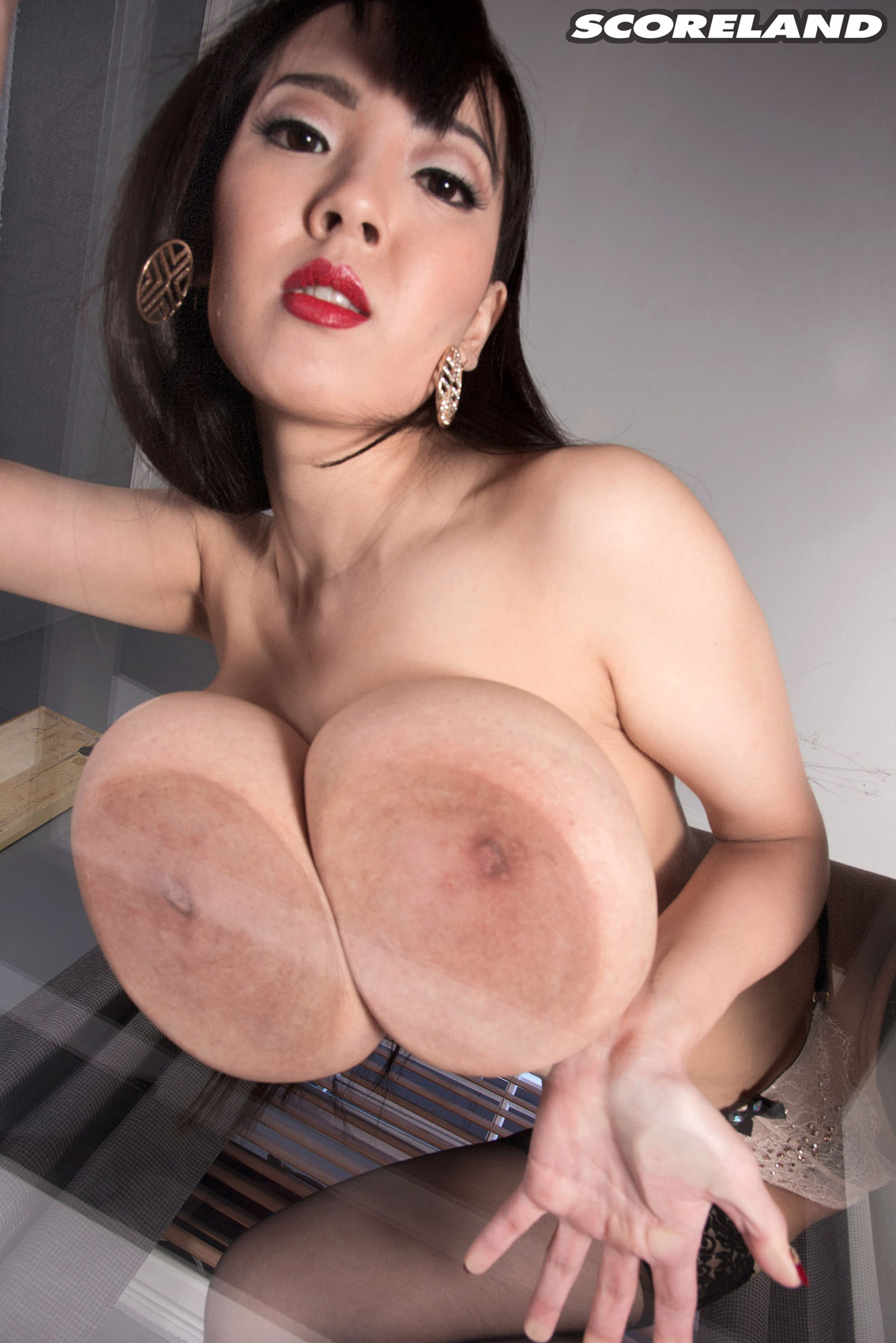 Hot asian boobs