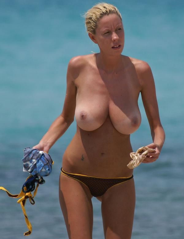 Are all breasts on the beach