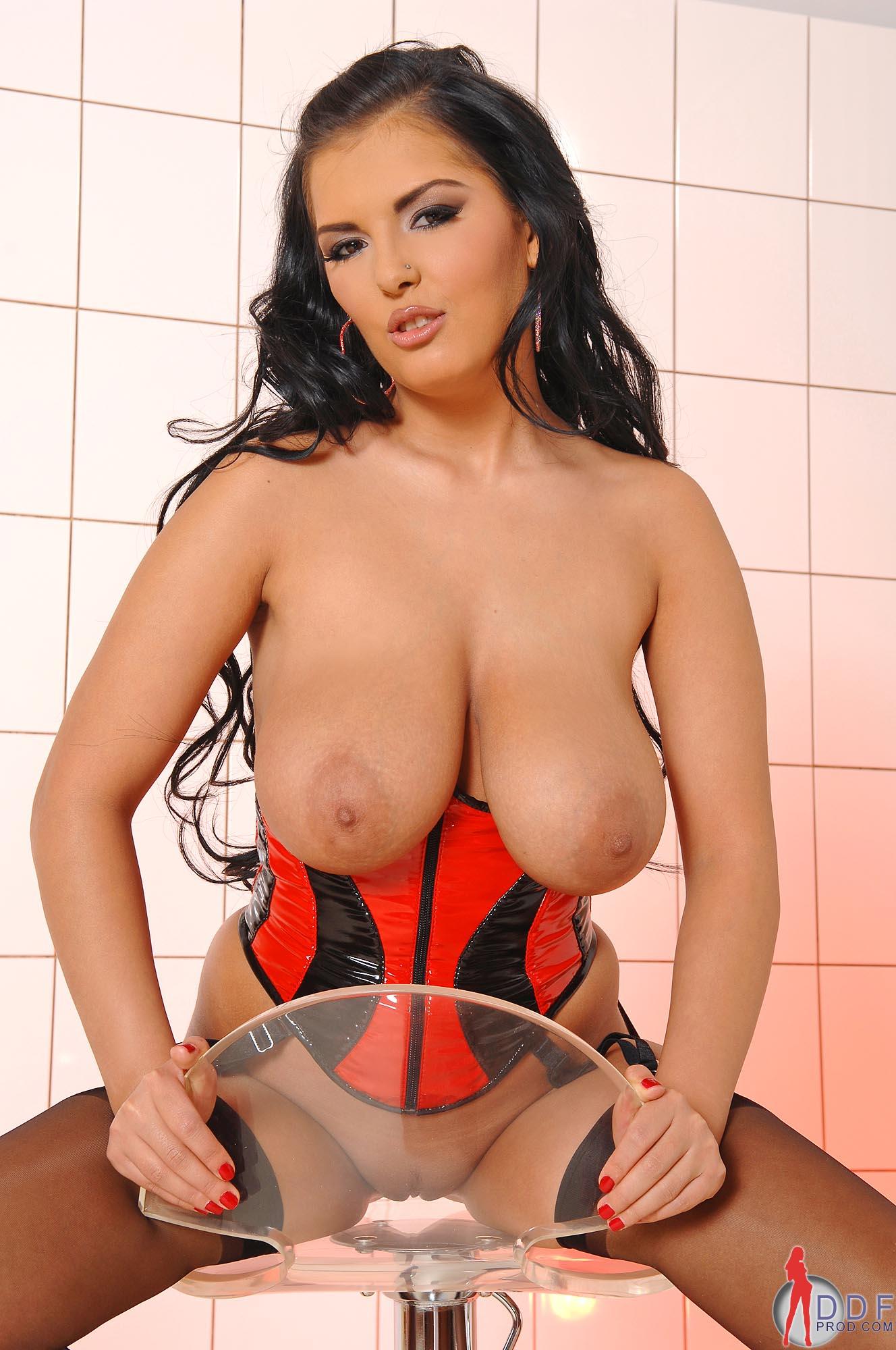 corset pornstar glamor