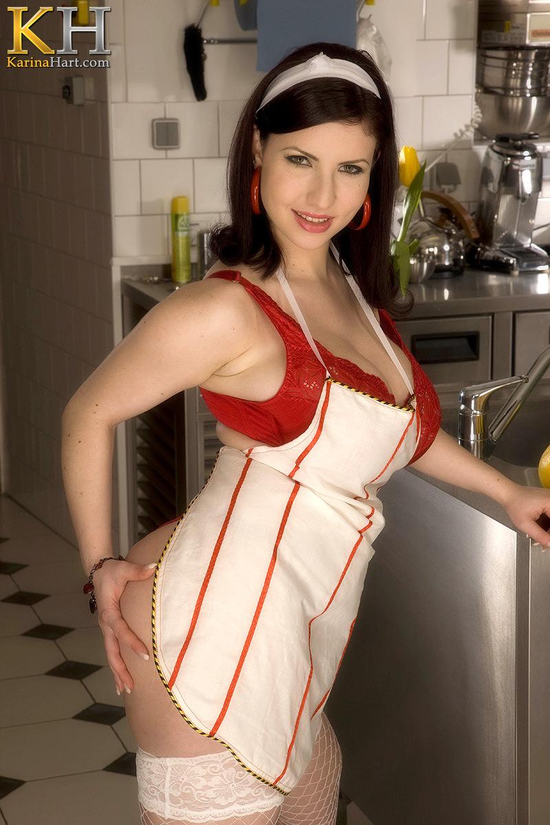 Karina Hart Naked Chef