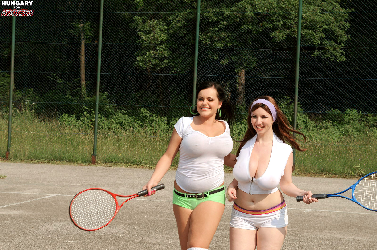 tennis Karina hart busty