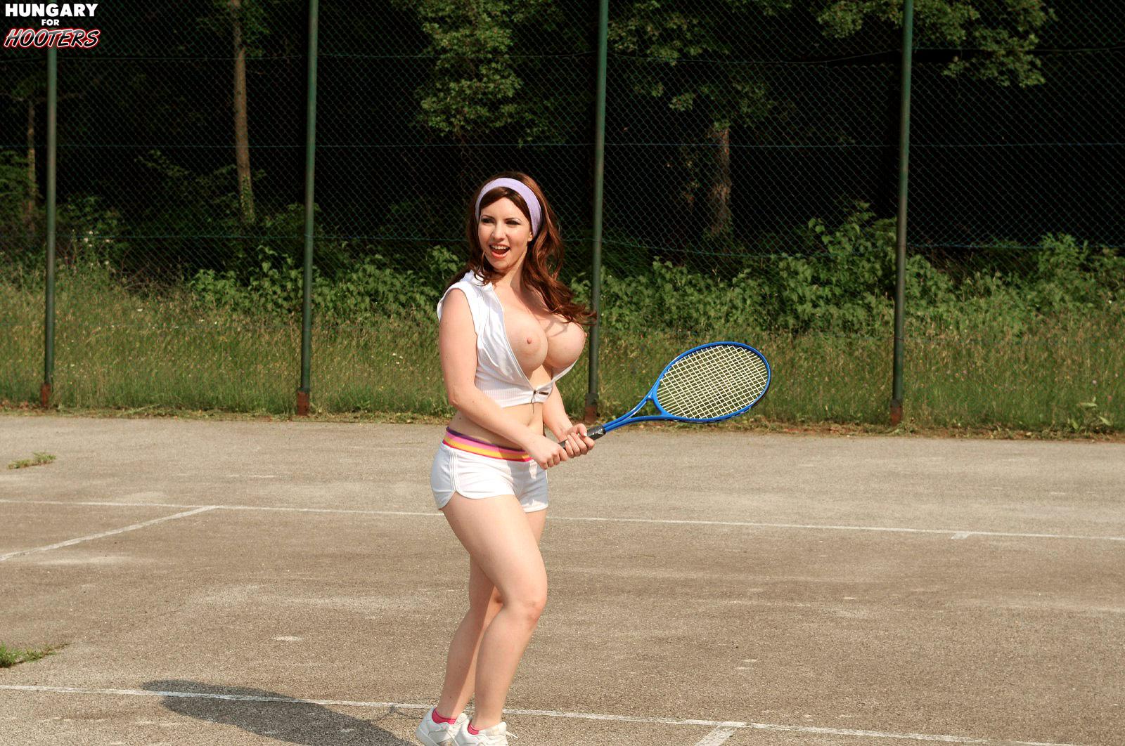 Karina hart busty tennis agree