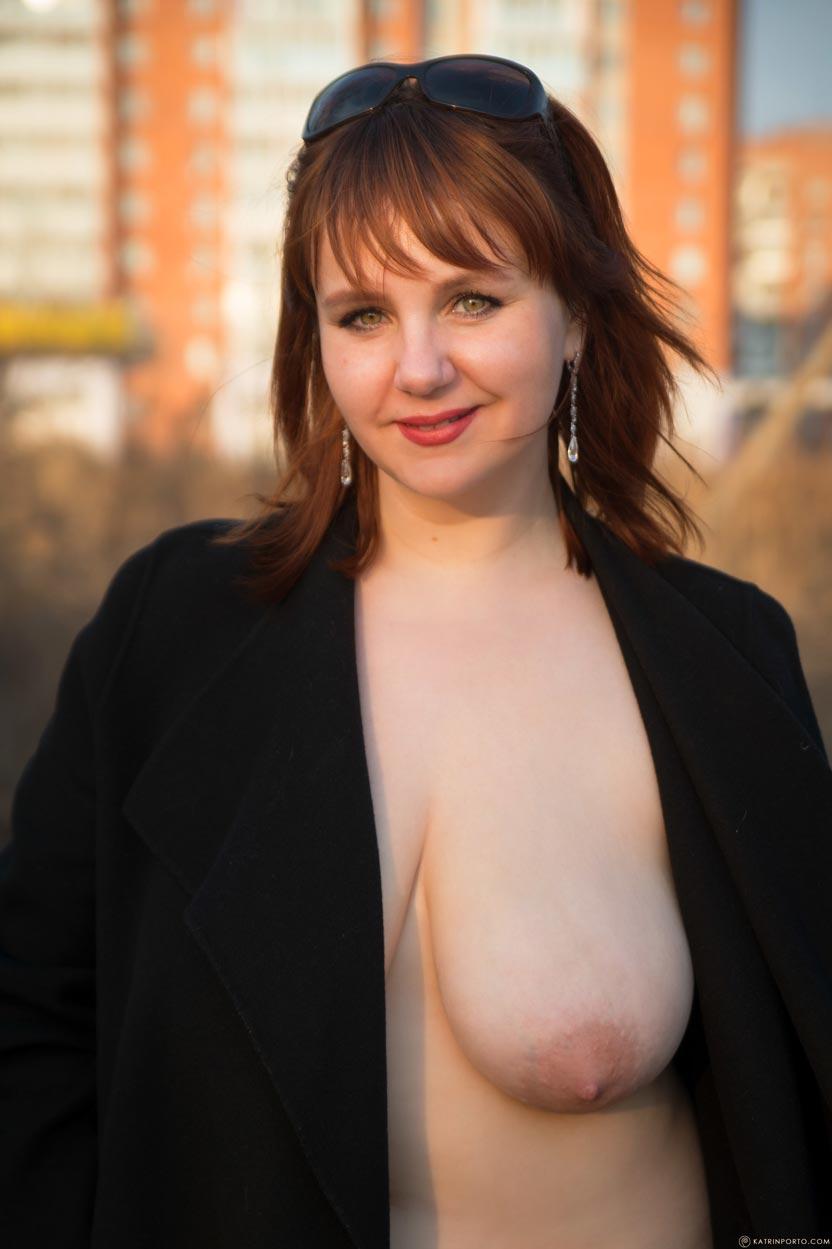 Naked outside pics