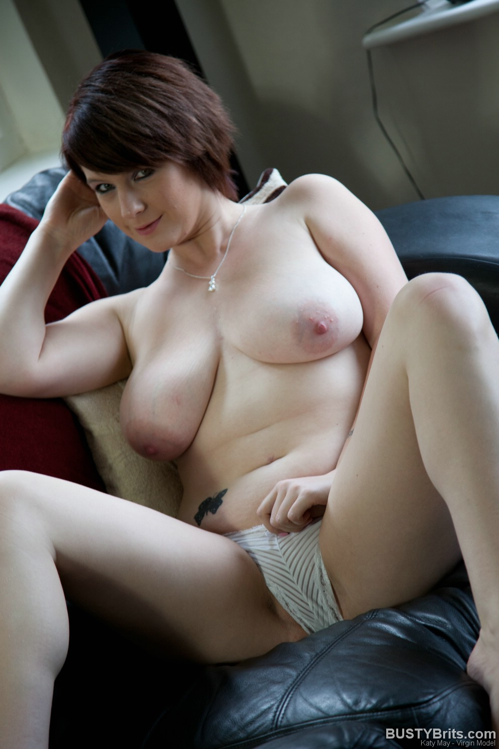 Hot and busty brit katie second