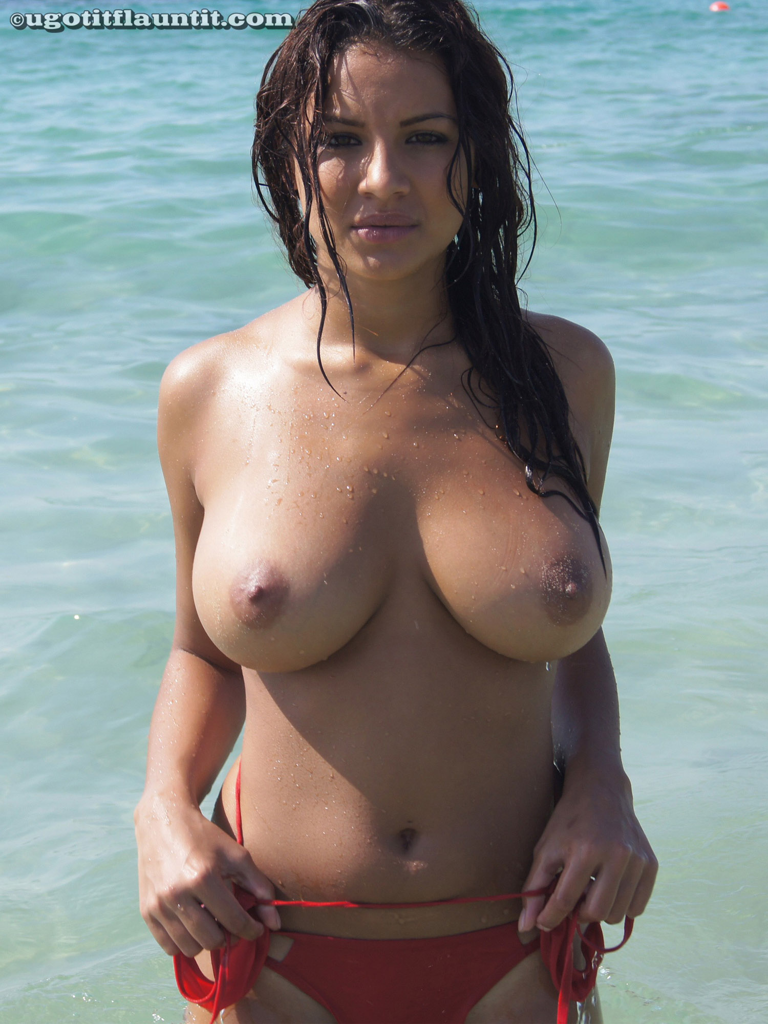 Whoa u got big boobs