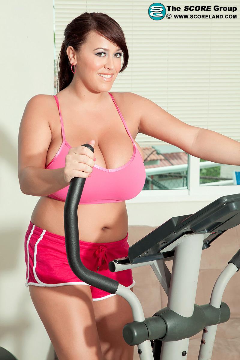 Perfect round chineese tits