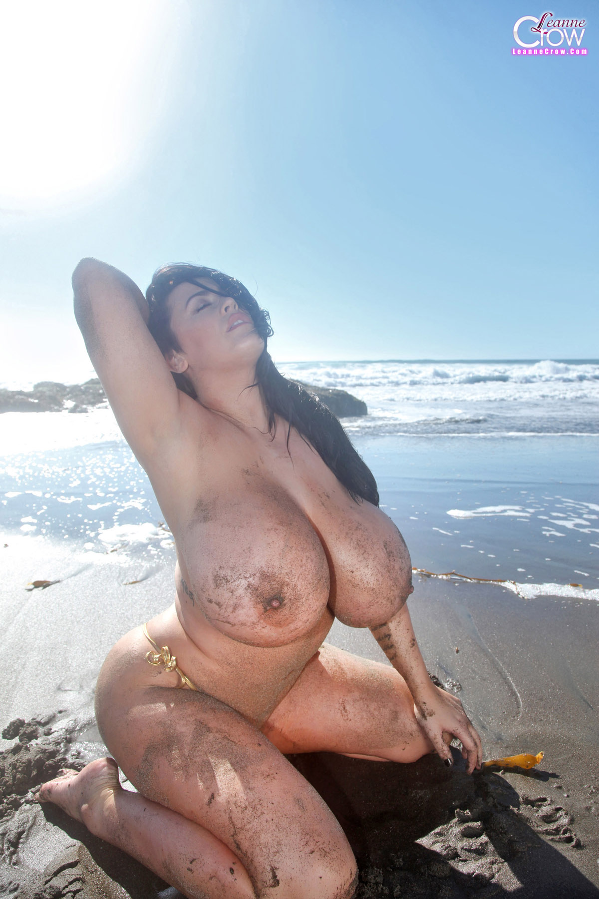 Opinion Big tits topless beach excited