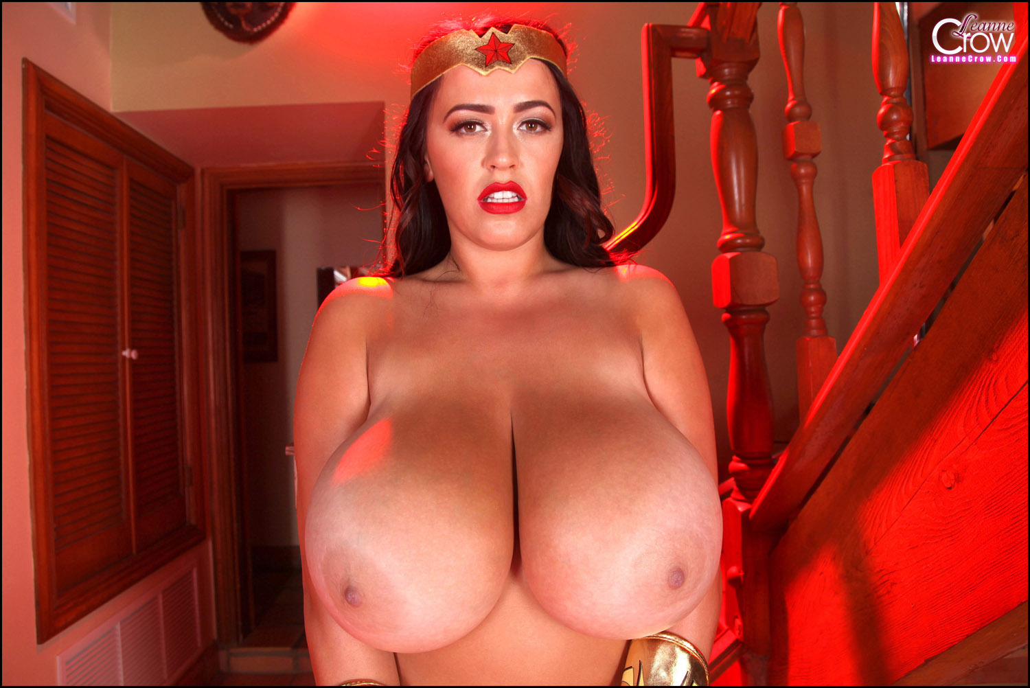 Wonder woman with massive naked boobs pictures erotic scene