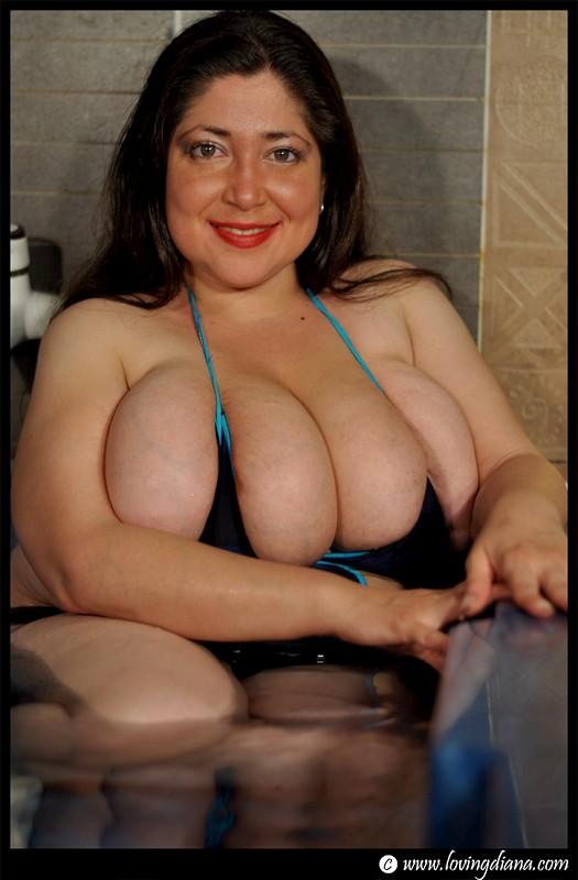 loving boobs diana tits Big