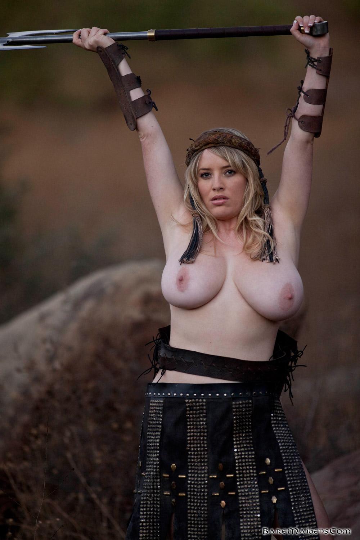 Busty nude warrior woman xxx pics