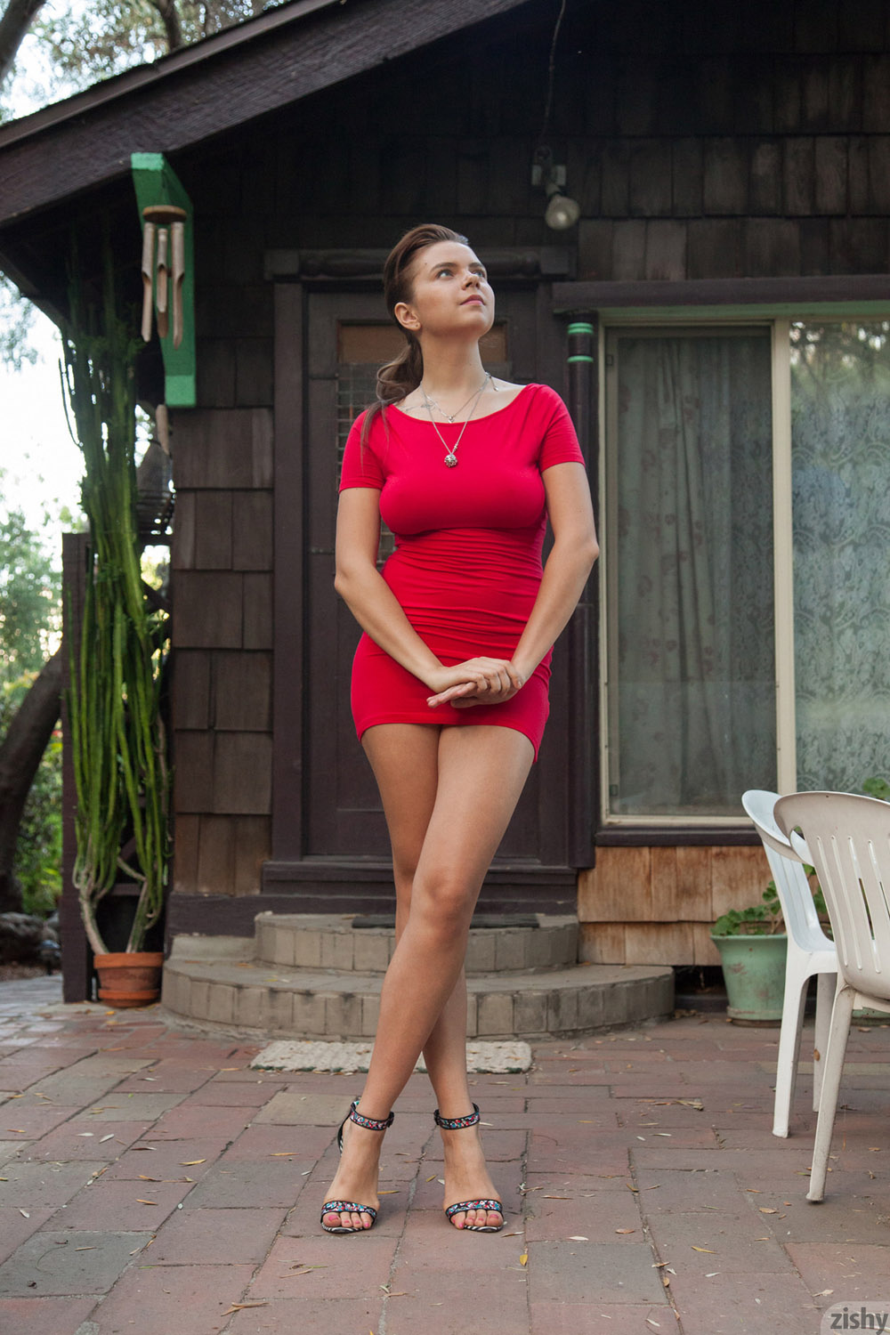 Horny girls, up skirts nude red drees that fucking