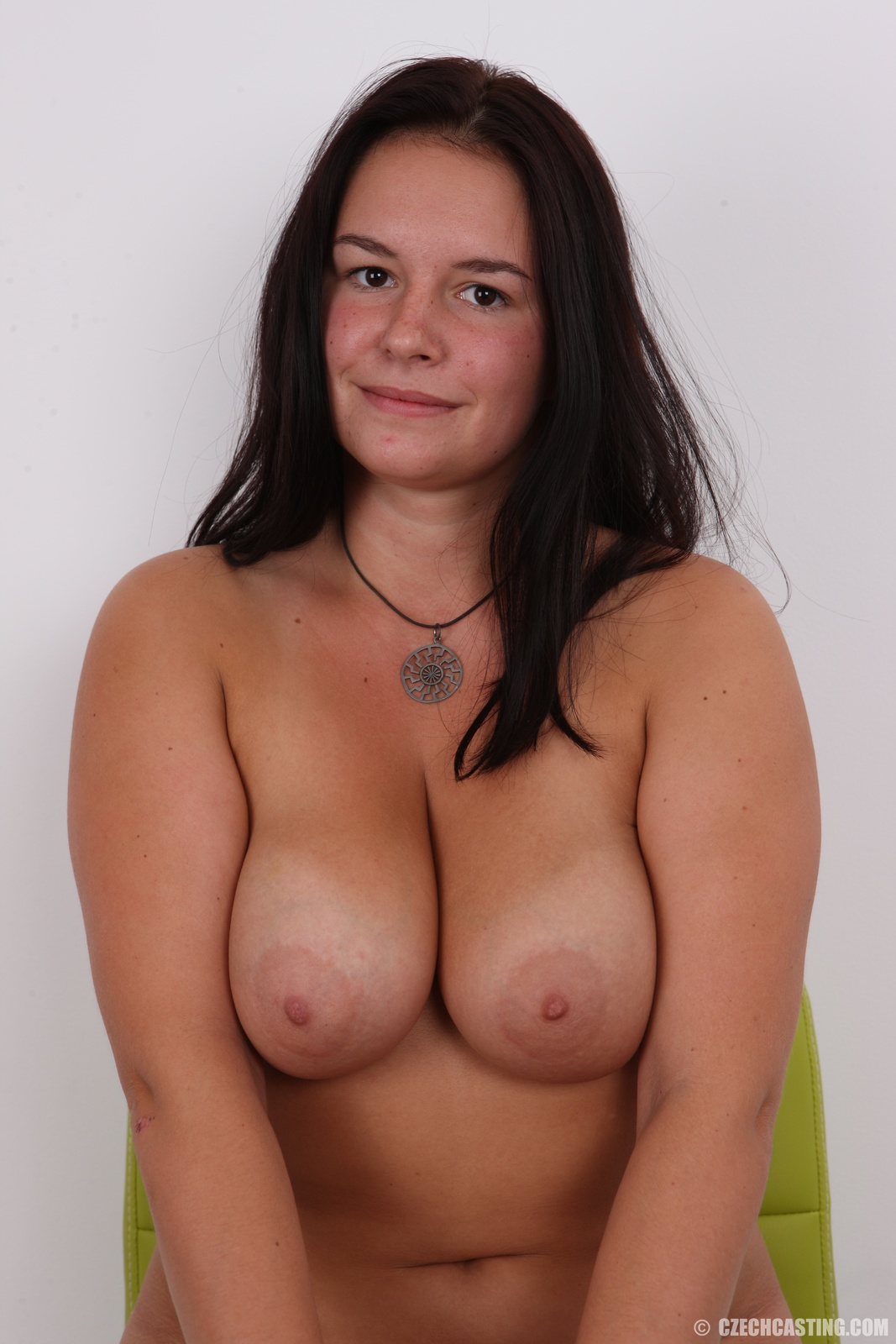 Huge tits with puffy nipples