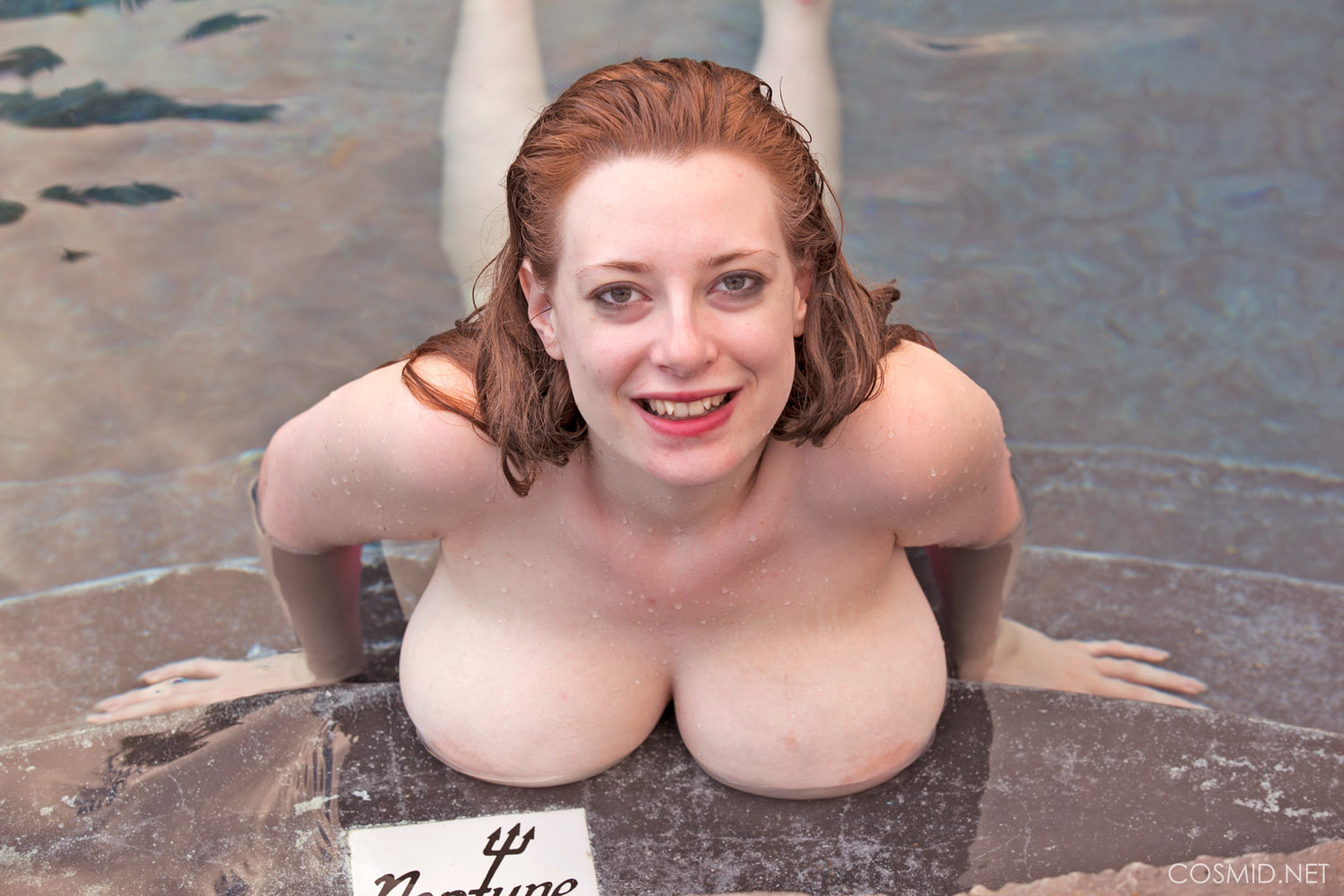 Bubbly redhead shows her body in detail - 3 part 1