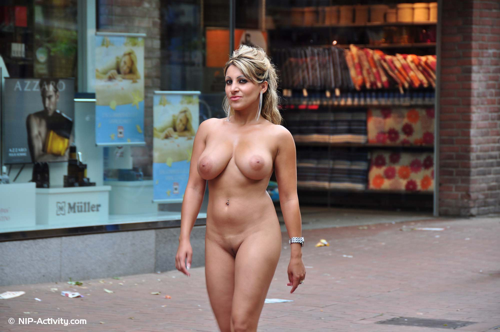 Straight Walking Naked