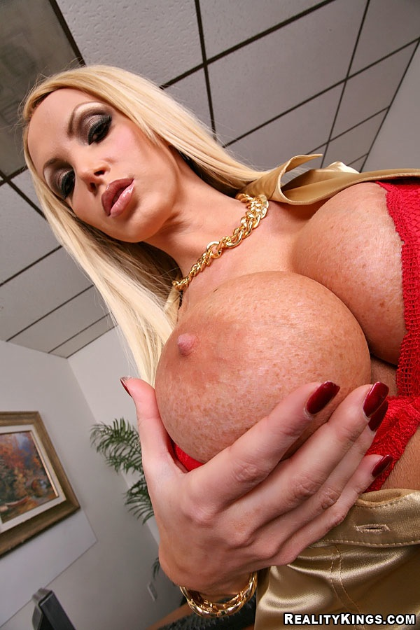 G4 girl blonde with huge boobs