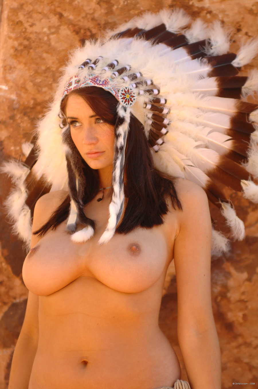 Excellent sexy native american beauty