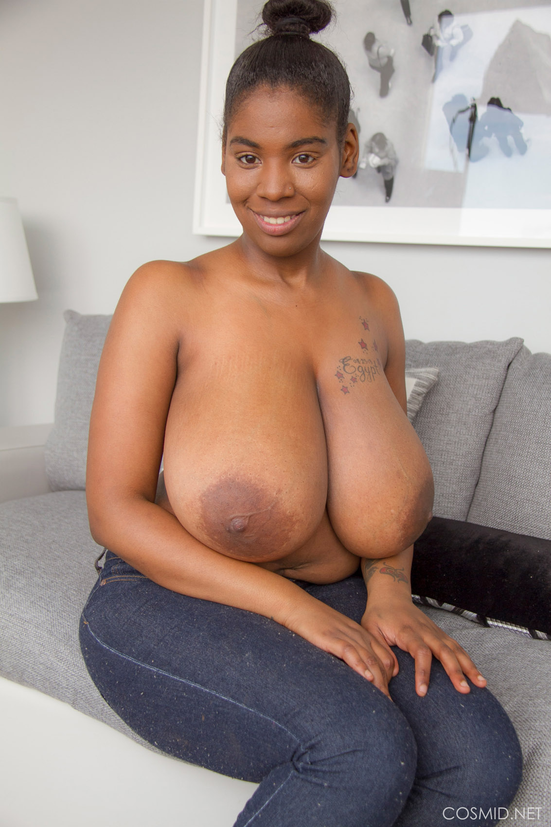 Big boobs black girl exclusively